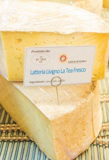 Formaggio latteria Livigno La Tea Fresco (1/8 di forma)