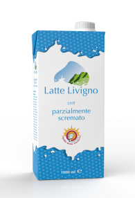 Latte Livigno Uht Parzialmente Scremato conf 12 lt.
